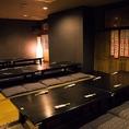 広々宴会場個室は最大80名様まで