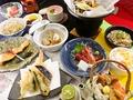 料理メニュー写真ぼたん会席   飲み放題90分付き 少し贅沢なお料理と飲み放題のセットです。