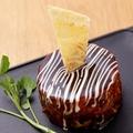 料理メニュー写真名物チーズたっぷり SAKAMOTO焼き