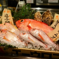 柳橋市場すぐ!新鮮な海鮮をご用意!!