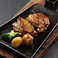 料理メニュー写真比内地鶏のステーキ