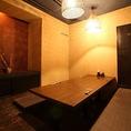 ◆E卓・掘り炬燵半個室(2~8名様)接待に最適です◆