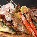 料理メニュー写真本日の鮮魚の一夜干し 原始焼き