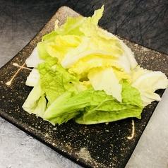 料理メニュー写真白菜