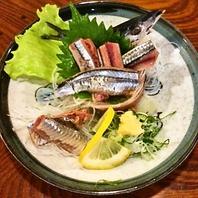 生秋刀魚のお造り