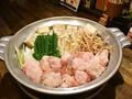 料理メニュー写真金もつ鍋(しょうゆ)/白もつ鍋(みそ)