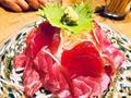 料理メニュー写真沖縄近海生マグロ赤身腹身盛り盛り!