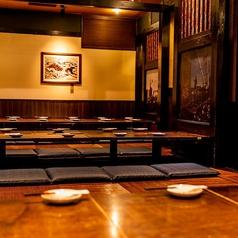 ◆和洋個室◆和洋が包み込む至福の個室空間が味わえるます。少人数~団体様までお気軽にお立ち寄りください!