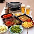 料理メニュー写真焼肉BBQプラン〈やっぱりお肉を食べたいプラン〉