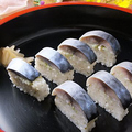 料理メニュー写真トロ鯖(さば)寿司