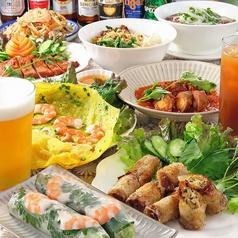 ベトナム家庭料理 アジアンテイストの写真
