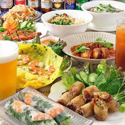 ベトナム家庭料理 アジアンテイスト