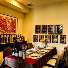 テーブル完全個室席6名様以上限定※人気席の為1ヶ月前からの要予約制!