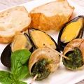 料理メニュー写真ムール貝のソテー