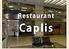 レストラン カプリスのロゴ