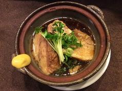 奈良県産郡ポーク自家製角煮
