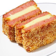 料理メニュー写真チーズハムカツ