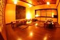 団体様用広々個室。20名~30名まで対応可能。