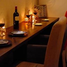 【カウンター席もあり】カウンター席もあり!デートや一人でゆったり飲みたい時などにご利用下さい♪バーの気分で味わえる人気にお席になっております。