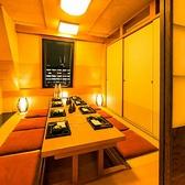 プライベート個室空間。皆様にゆったりとしたお時間をお過ごし頂けます。女子会やママ会、同窓会などにも◎