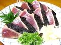 料理メニュー写真【無農薬の藁を使用】塩たたき