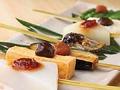 料理メニュー写真【会津若松郷土料理】田楽味噌の串焼き(1本)