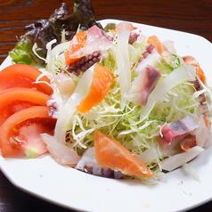 海鮮サラダ/きのこサラダ