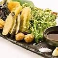 料理メニュー写真地場野菜の天ぷら