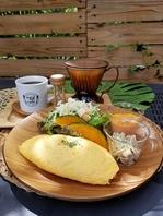 こだわりたまご【米卵】を使った絶品オムライスです。