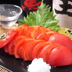 料理メニュー写真トマトスライス