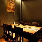 2~4名様ご利用いただけるテーブル席!ゆったりお召し上がりいただけます!