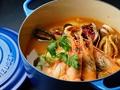 料理メニュー写真ズッパディペッシェ ~魚介のスープ~