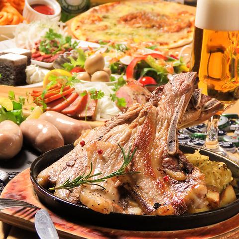 ビアホール ベアレンヴァルト BaRENWALD 札幌駅前店の料理