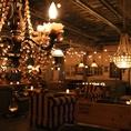 ビュッフェスタイルの大型貸切パーティー!立食の場合、最大150名までのパーティーが可能★企業パーティーや学生コンパ、Wedding2次会等の各種イベントにご利用頂けます。