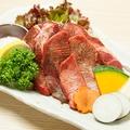料理メニュー写真仙台の厚切り牛タン焼
