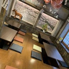 【2階】和の雰囲気漂う掘りごたつ席。少人数から大人数まで、各種ご宴会にご利用ください♪