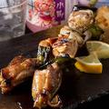 料理メニュー写真モモ肉ごち焼き(2本)