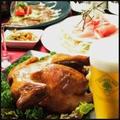 料理メニュー写真丸鶏のオーブン焼き