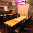 【テーブル席】少人数の飲み会や誕生日、女子会にぴったり!