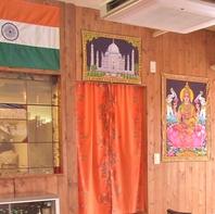 インド風の内装