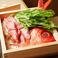 金目鯛とたっぷり野菜の蒸篭