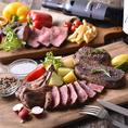 駅前の好立地で肉料理を堪能★自慢のステーキはお好きな部位×グラムを選んでオーダー♪