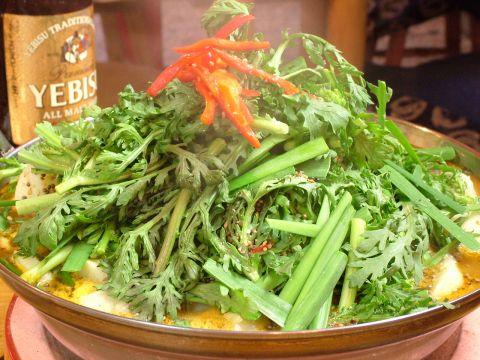 カムジャタン鍋はスタミナ満点!!ヘルシーで元気の出る自慢の鍋☆