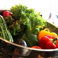 野菜ソムリエが厳選した食材