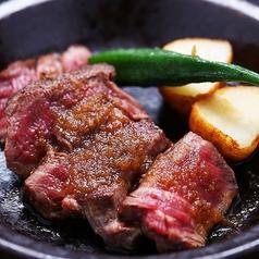 料理メニュー写真北海道産牛ヒレ肉のステーキ