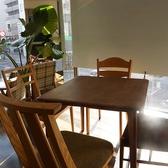 【2階】4名用のテーブル席です♪♪