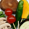 料理メニュー写真お野菜の串揚げ3種盛り