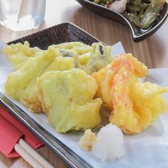 海老と野菜とさぼ天