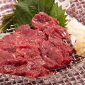 料理メニュー写真熊本馬刺し(赤身)
