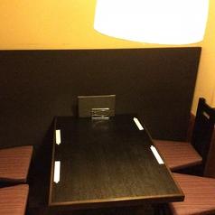 人気の個室は、5名様までご利用可能なお席を2つご用意しております。